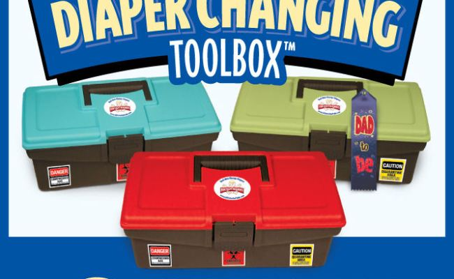 Daddy Diaper Changing Toolbox Father S Day Giveaway