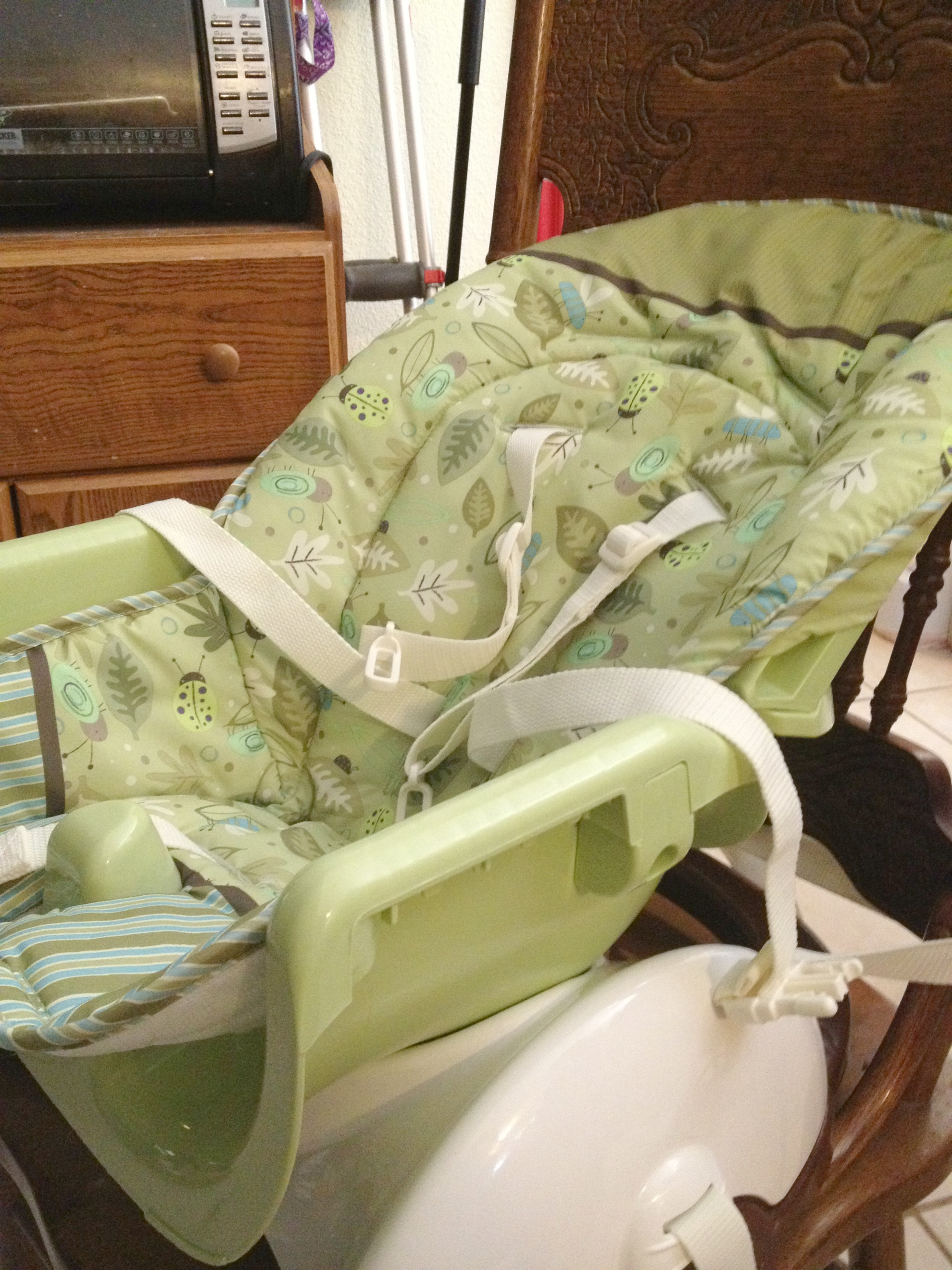 rainforest spacesaver high chair covers wedding mn mom 39s first year favorites 43 fisher price space saver