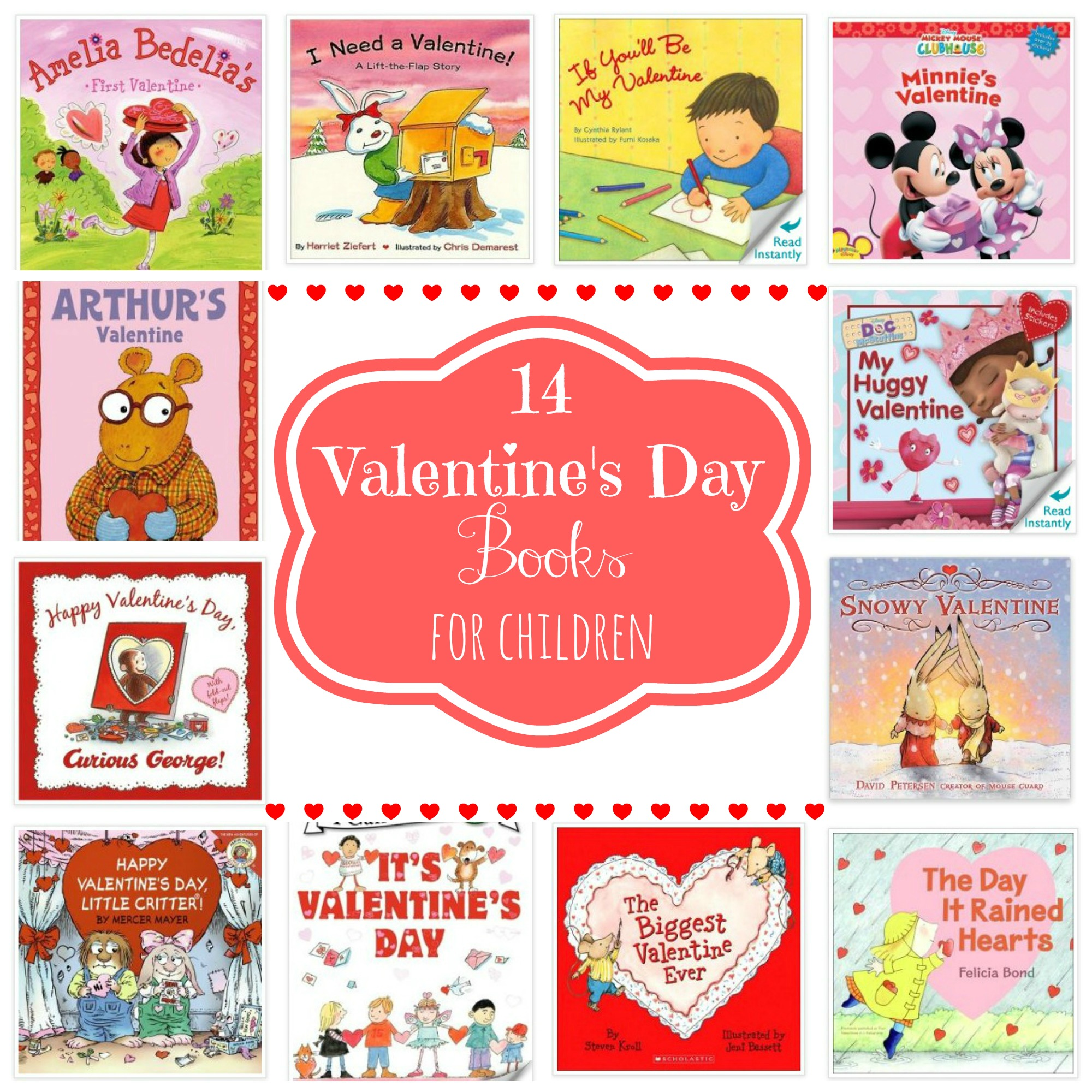 14 Valentine S Day Books For Children