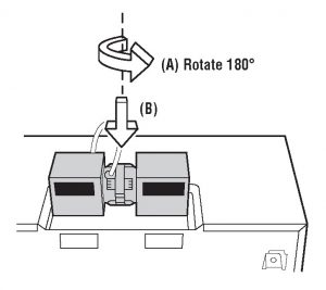 Figure 8 - How to Install an Over-the-Range Microwave Oven