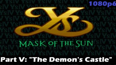 """Photo of Demon's Castle of Stormvale in """"Ys IV: Mask of the Sun!"""""""