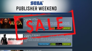 Photo of SEGA Weekend Steam Sale!