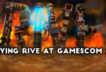 Photo of Playing RIVE at Gamescom 2016! (Interview w/Two Tribes)