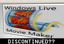 "Photo of ""Windows Movie Maker"" to be Discontinued??"