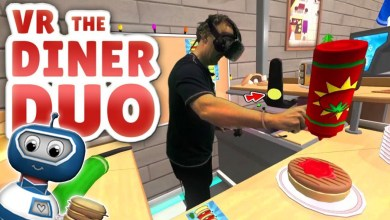 Photo of VR THE DINER DUO: I'M A BAD CHEF! (HTC Vive Mixed Reality Gameplay)