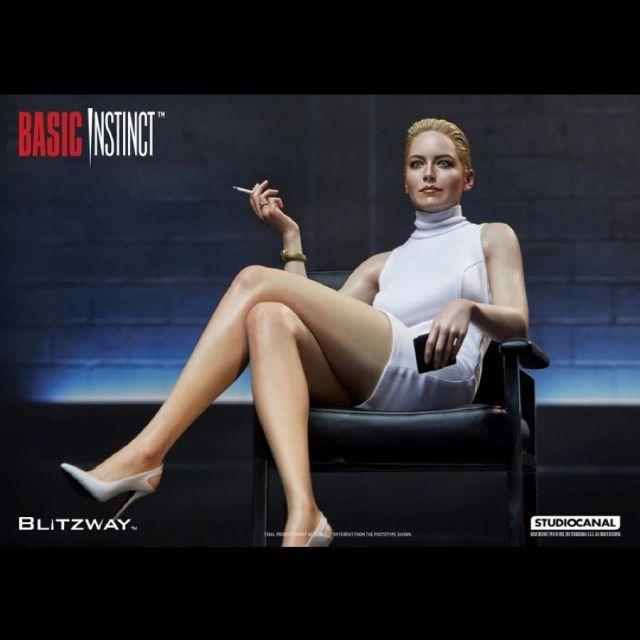 Basic Instinct 1992 Sharon Stone Superb 1 4 Scale Hybrid Statue From Blitzway 12592 P Simply Binge
