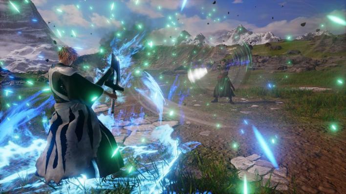 Jump Force Ichigo blocks Zoro's attack