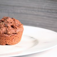 Triple quinoa and chocolate muffins