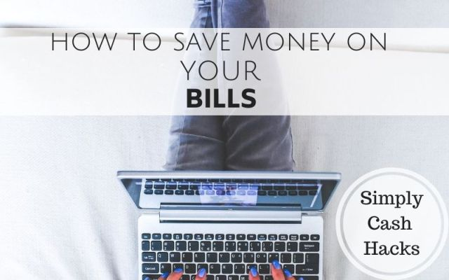 How to save money on your bills