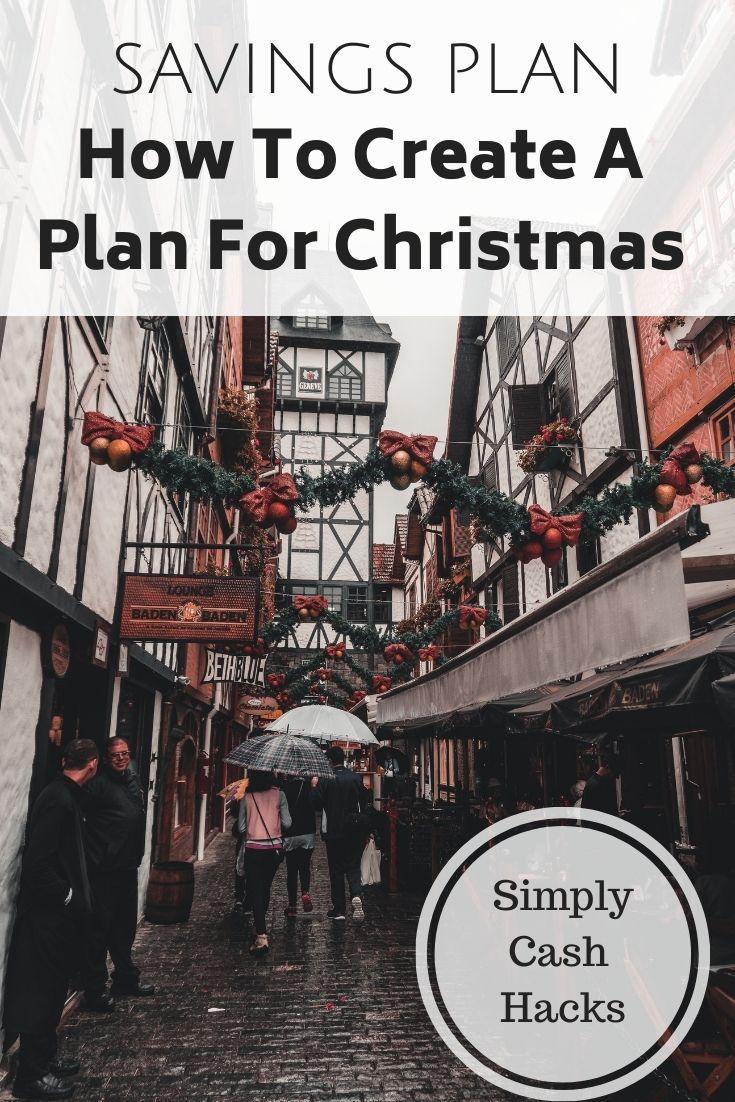 savings plan: how to create a plan for christmas