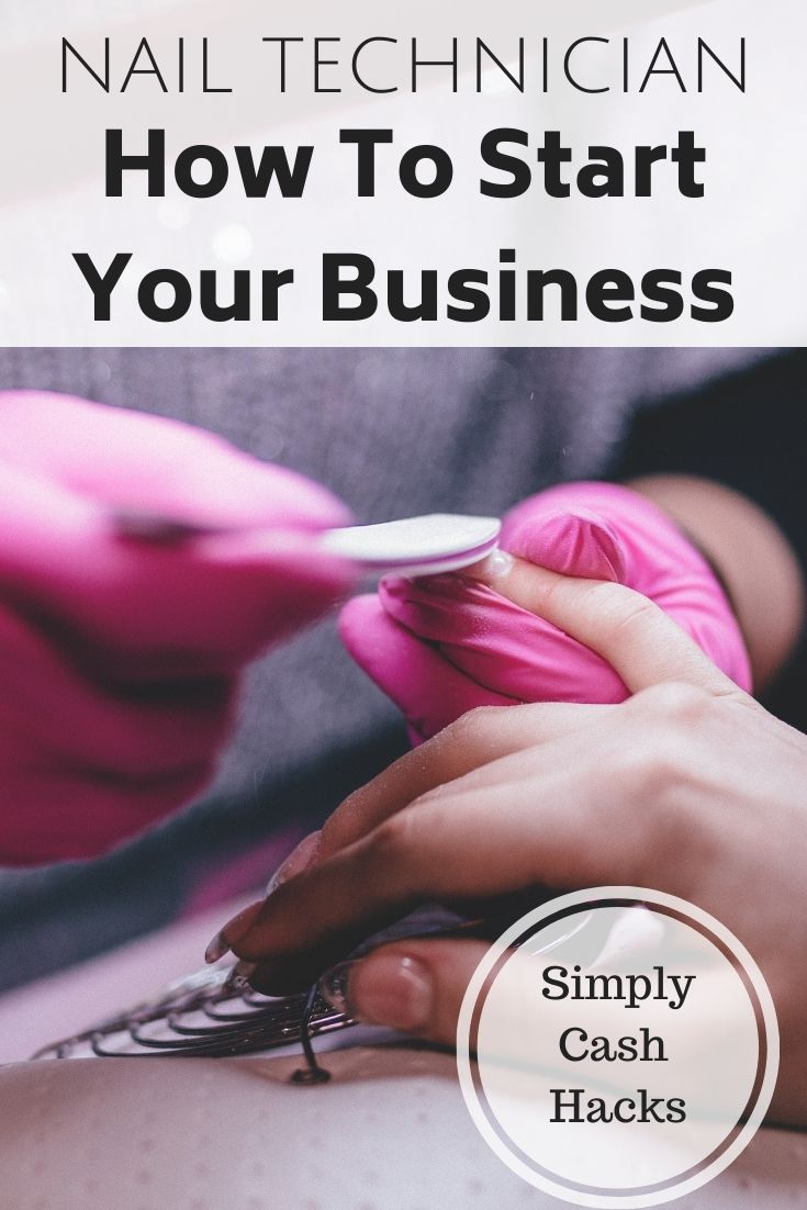 nail technician: how to start your business