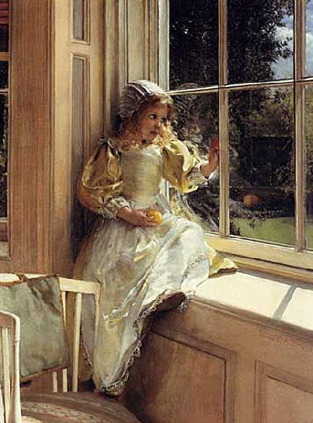 Sunshine - Lady Laura Teresa Alma-Tadema