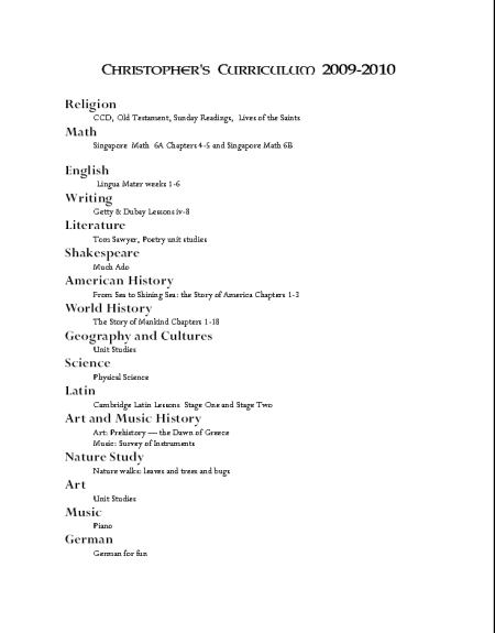 Subjects and Texts