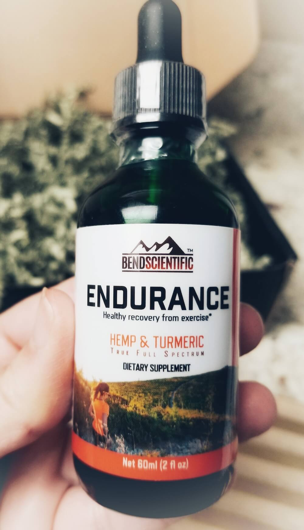 Bend Scientific's Endurance Hemp Extract Oil is physician formulated with the athlete in mind - promotes pre and post workout usage and recovery!