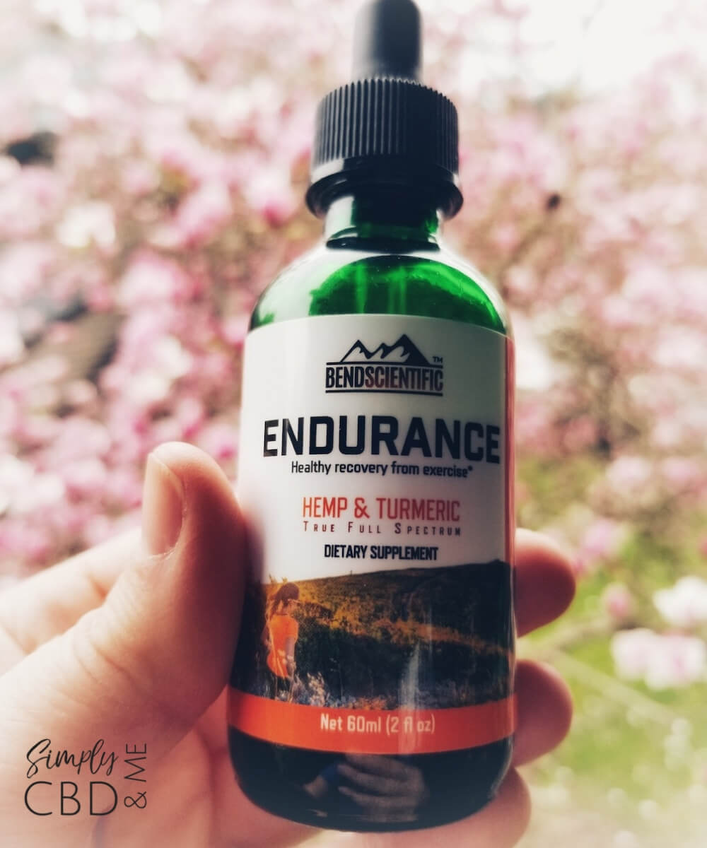 Best CBD Oil for Pain - Endurance by Bend Scientific
