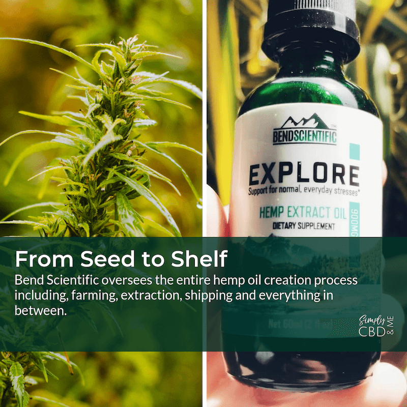 Bend Scientific owns the entire hemp extract oil process from seed to shelf