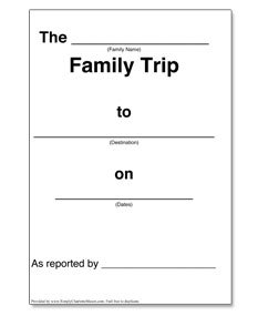 Trip Journal Template — Simply Charlotte Mason