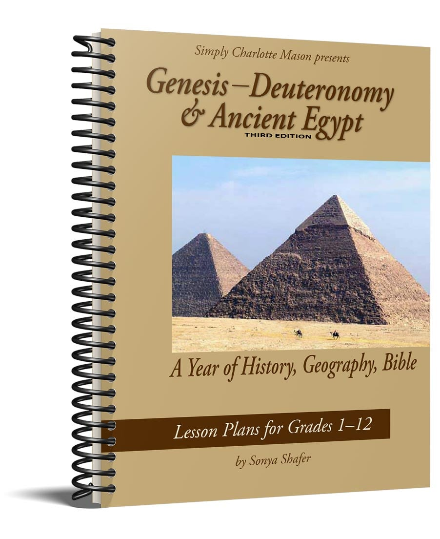 hight resolution of Genesis through Deuteronomy \u0026 Ancient Egypt — Simply Charlotte Mason