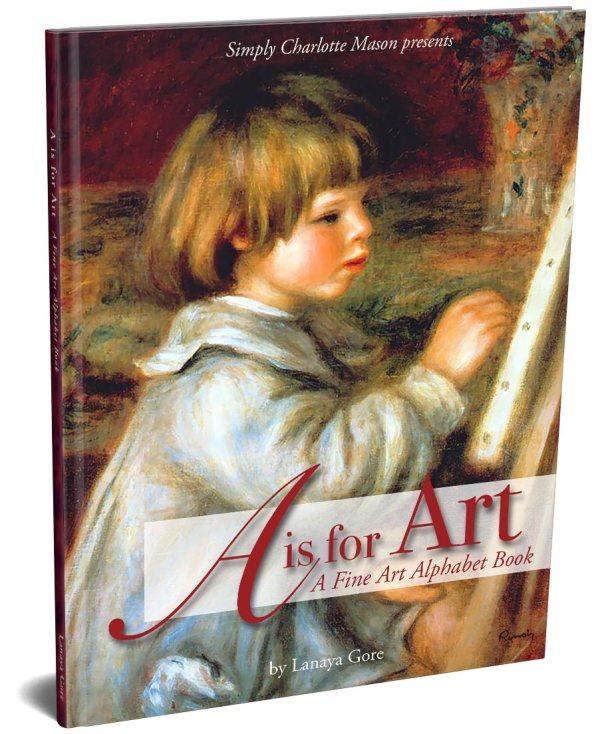 Art Fine Alphabet Book Simply Charlotte Mason