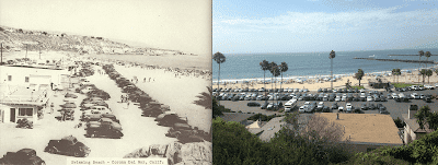 Corona Del Mar around 1940 and in 2017 - T.S. Eliot in Love and Los Angeles: A Photo Essay