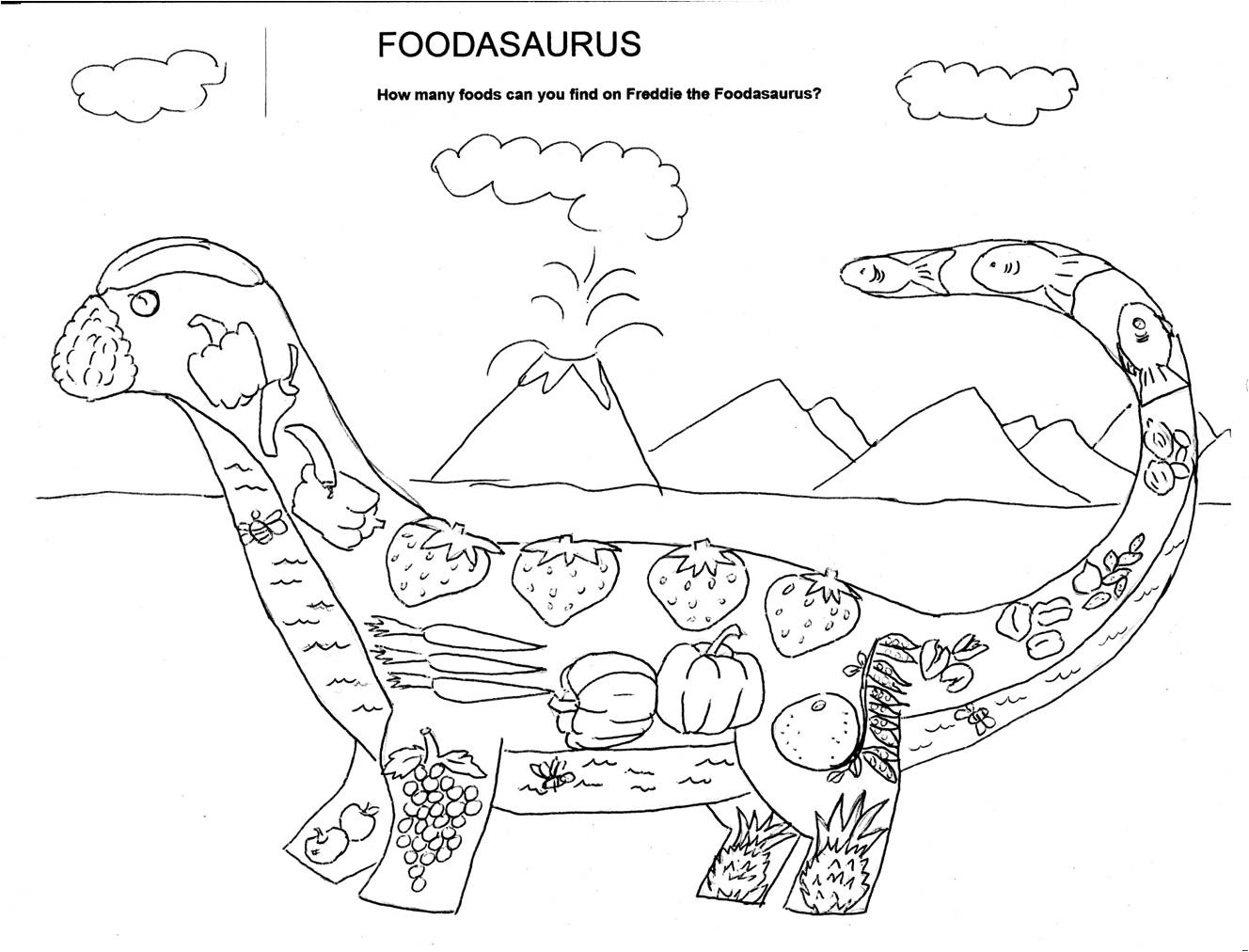 Dairy Food Group Coloring Pages