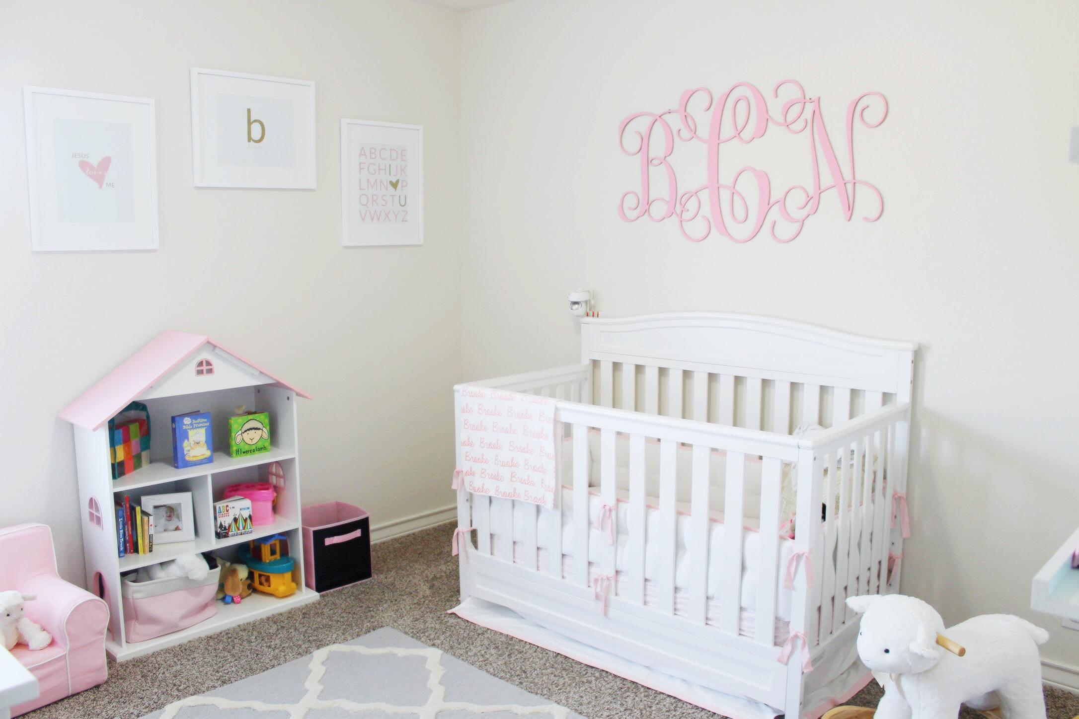 Brookes Nursery Update  Giveaway  Simply Clarke