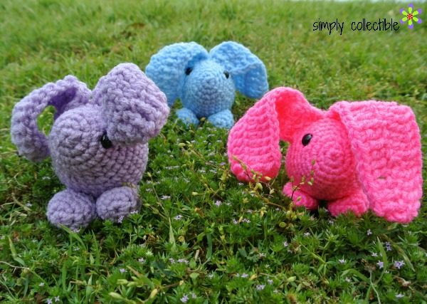 Baby Bunny free crochet pattern by Simply Collectible