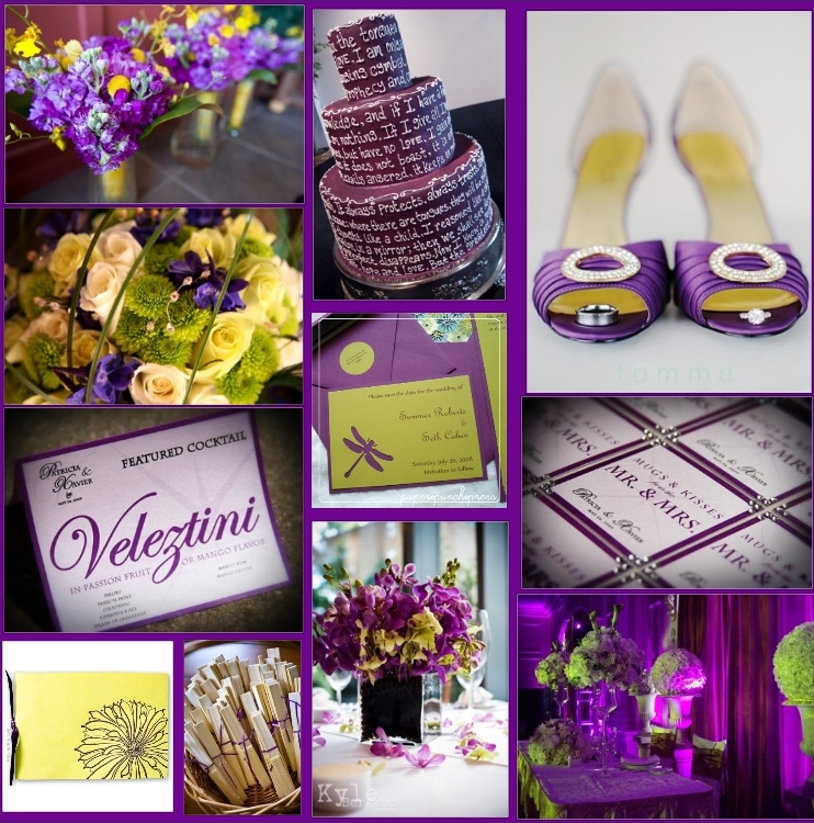 The Pink  Purple Wedding for Rachel of course  Simply Couture Weddings