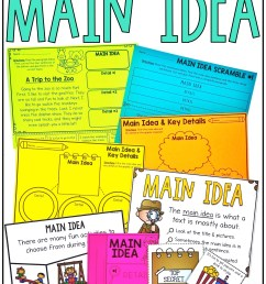 Main Idea and Details Activities - Simply Creative Teaching [ 2249 x 1499 Pixel ]