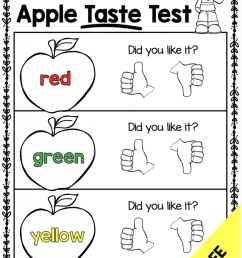 Free Apple Activities for K-2 Classrooms - Simply Creative Teaching [ 1024 x 791 Pixel ]