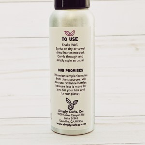 How to use Organic Simply Detangler