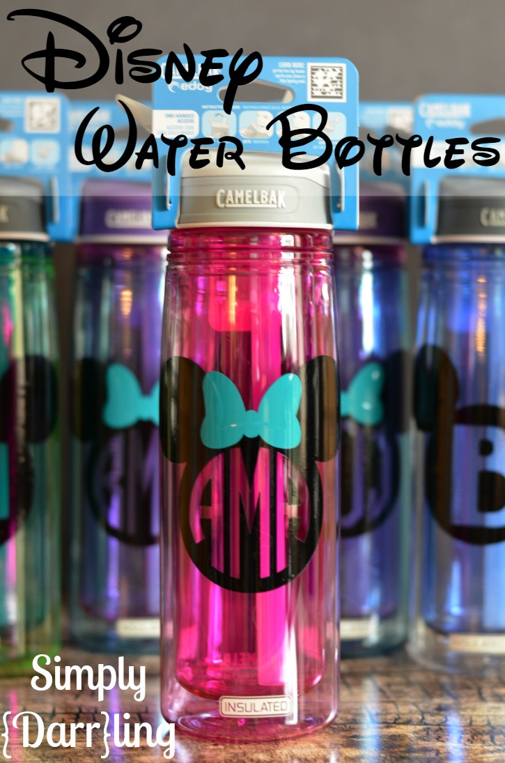 personalized disney water bottles