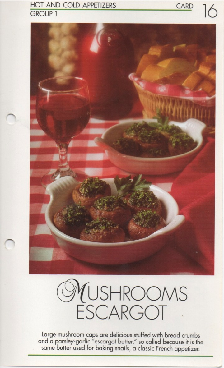 1-16 Mushrooms Escargot