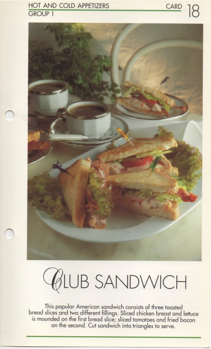 1-18 Club Sandwich