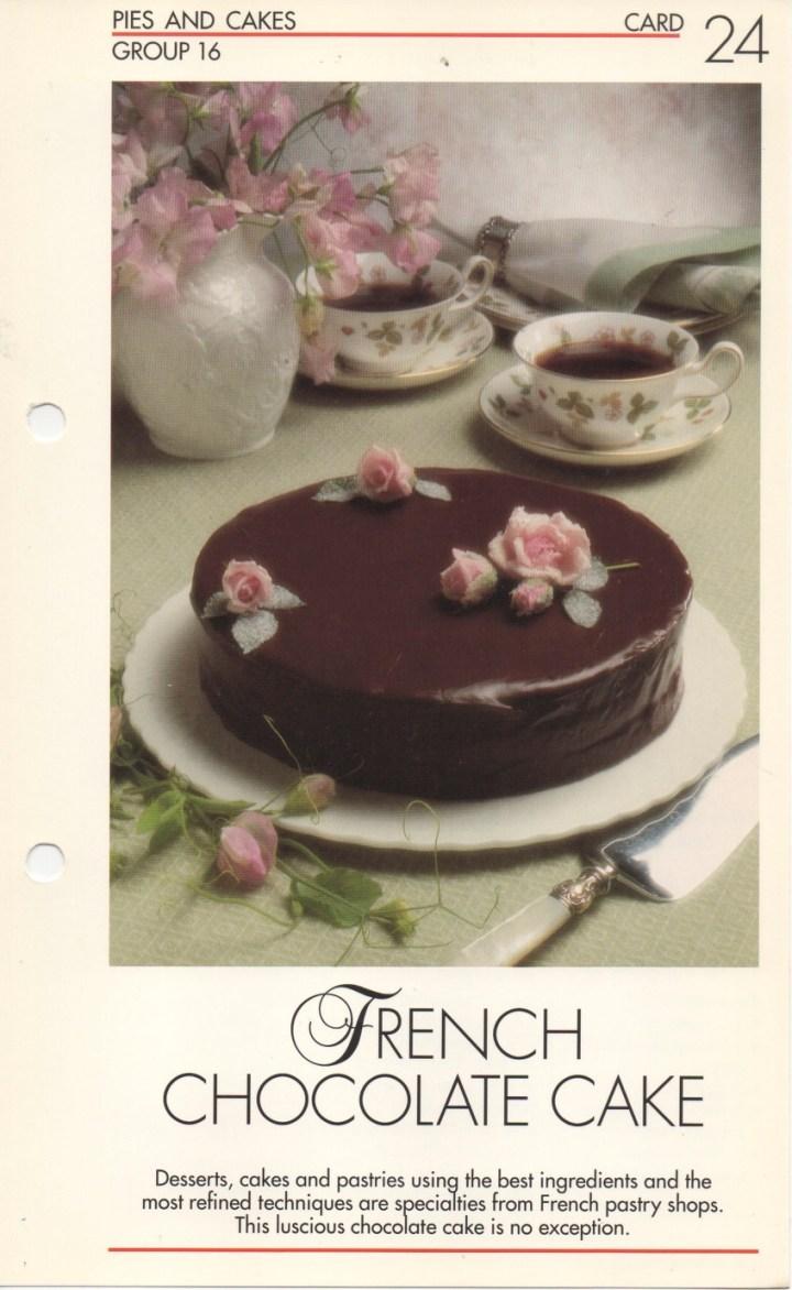 16-24 French Chocolate Cake