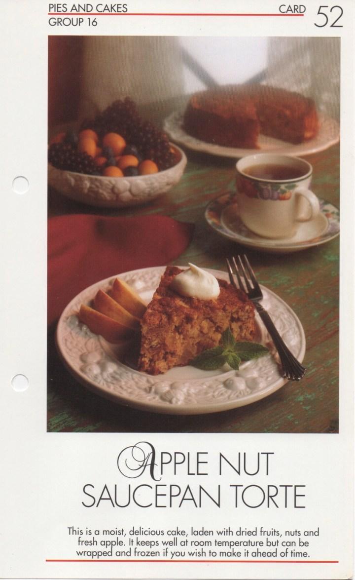 16-52 Apple Nut Saucepan Torte