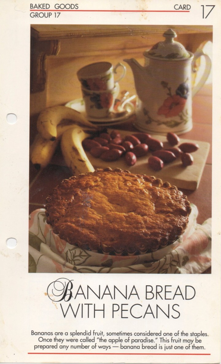 17-17 Banana Bread with Pecans