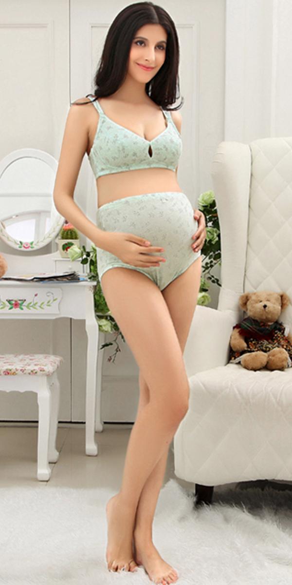 cotton maternity underwear set sexy pregnant women