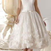 tulle and taffeta with lace a-line applique wedding dress sexy womens bridal gowns