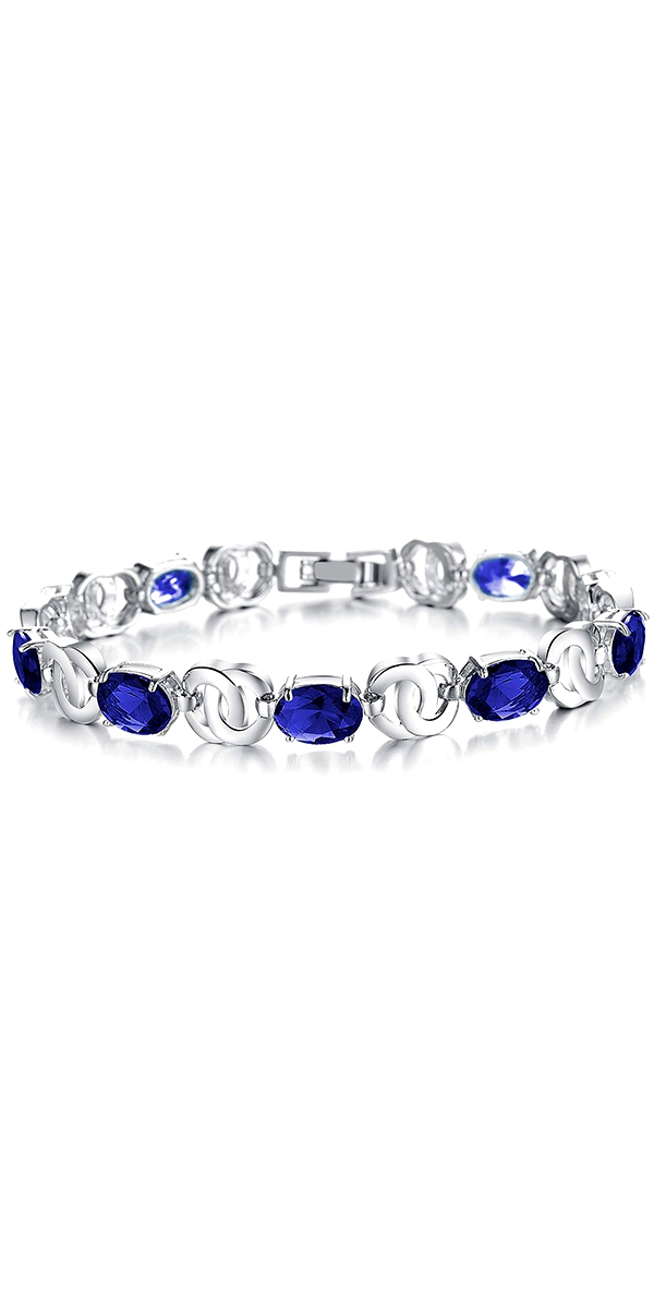 cubic zirconia bridal bracelet sexy womens accessories