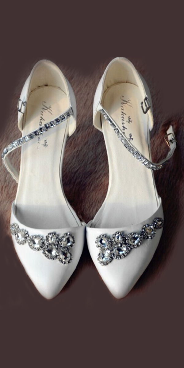 full beaded crystal diamond high-heeled bridal shoes sexy womens bridal accessories