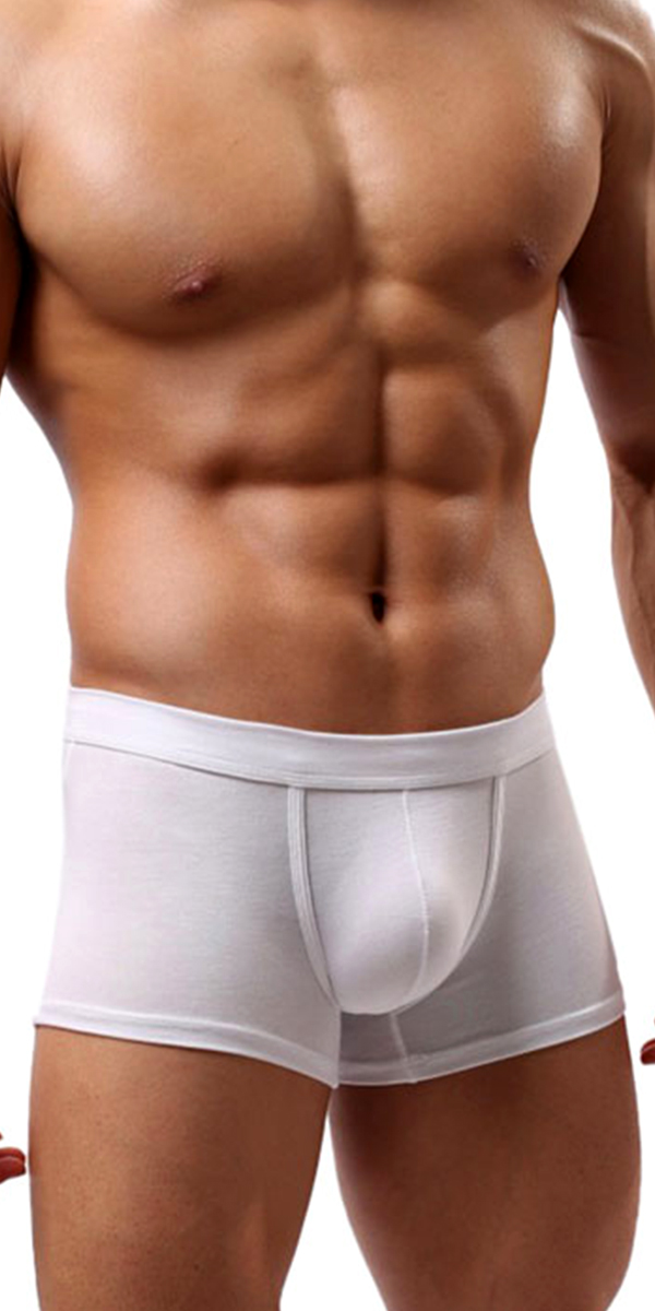 low-rise bulge pouch boxer briefs sexy mens underwear