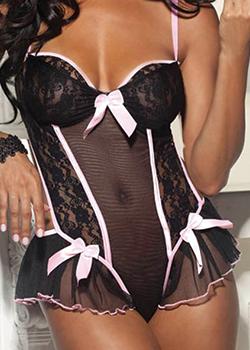 sexy women's lingerie babydolls