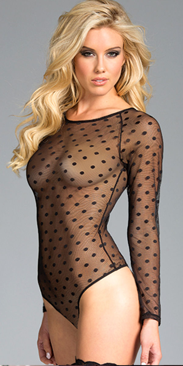 one piece sheer long sleeve black bodysuit sexy womens clothing