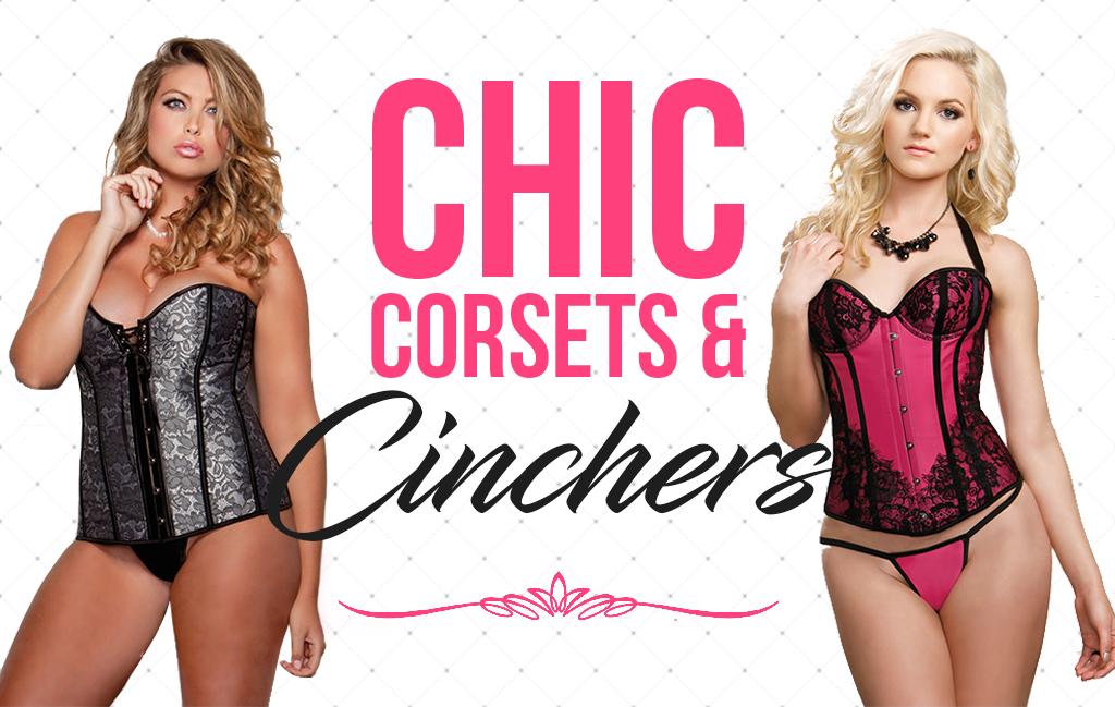 sexy women's corsets lingerie