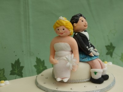 Cake topper for a lovely couple