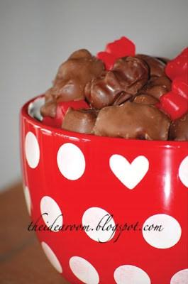 10 Days of Valentine – Day 8, Post 2:  Chocolate Covered Cinnamon Gummy Bears!  (yum!)