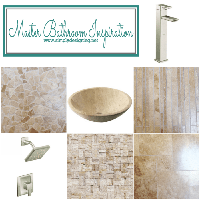 From Builder Blah to Fab: a tale of a master bathroom ...