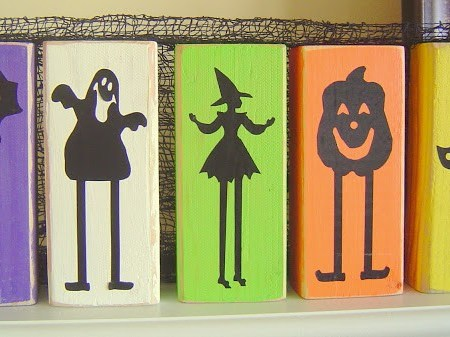 Halloween Blocks & Pumpkins
