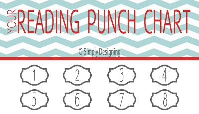 """Punch"" Your Way through a READING Chart {PRINTABLE}"